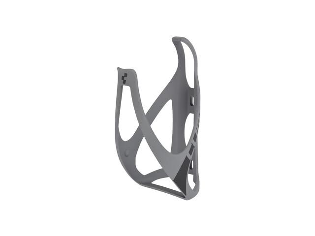 Cube HPP Flaschenhalter matt grau/schwarz